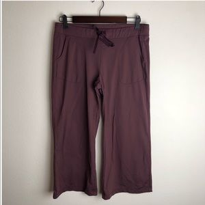 Patagonia Plum Athletic Capris